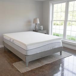 1 5 inch memory foam mattress topper