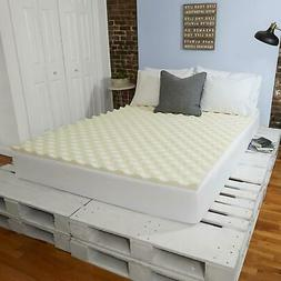 "Sleep Innovations 1.5"" Memory Foam Mattress Topper"