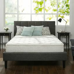 "10"" Inch Twin Size Box Full Spring Frame Foam Mattress Set T"