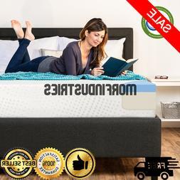 10-Inch Size Dual Layered Gel Memory Foam Mattress Best Choi