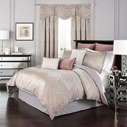 Beautyrest 16316BEDDQUEORC La Salle Comforter Set,Orchid,Que