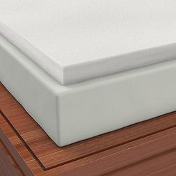 Firm Sleeper 2.0 King 3 inch Memory Foam Mattress Pad Topper