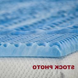 """Independent Sleep 2.5"""" Memory Foam with Gel Convoluted Twin"""