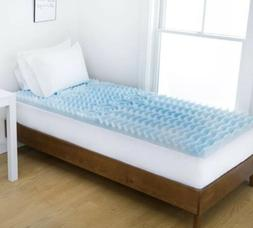 "Authentic Comfort 2"" Foam Mattress Topper College Sizes - Tw"