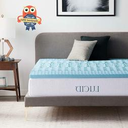 2 inch cooling gel memory foam mattress