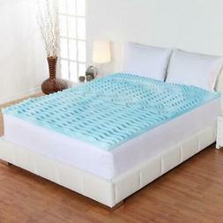 Authentic Comfort 2-Inch Orthopedic 5-Zone Foam Memory Mattr