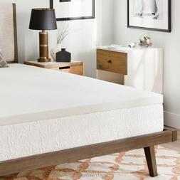2 inch ventilated memory foam mattress topper