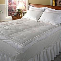 Blue Ridge Home Fashions 233 TC Down Pillow Top Featherbed