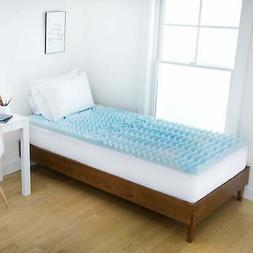 3-Inch Foam Mattress Topper in College Sizes - Twin XL, Twin