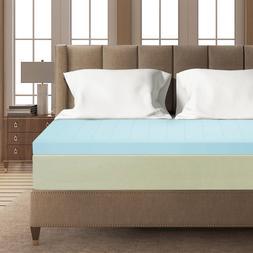 3 inch gel memory foam mattress topper