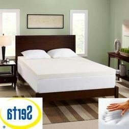 Serta 3-inch Memory Foam Mattress Bed Toppers Pad Memoryfoam