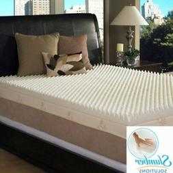4 inch memory foam mattress toppers bed