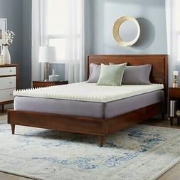 3 INCH REVERSIBLE SCULPTED ULTIMATE COMFORT MEMORY FOAM  BED