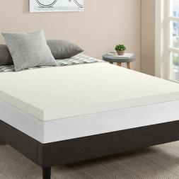 "3"" Premium Ventilated Air Flow Memory Foam Mattress Topper,"