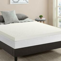 3 premium ventilated memory foam mattress topper