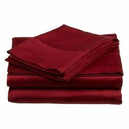 Superior 300-Thread Count Long-Staple Combed Cotton Solid Sh