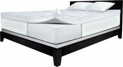 4 inch dual layer mattress topper king