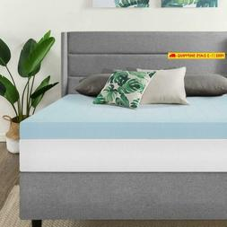 Best Price Mattress, 4 Inch Gel Memory Foam Mattress Topper/