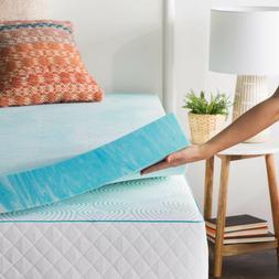 4 inch gel swirl memory foam mattress