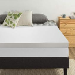 Best Price Mattress 4-Inch Memory Foam Topper, Twin
