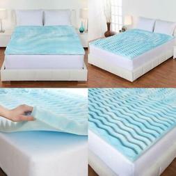 Authentic Comfort 4-Inch Orthopedic 5-Zone Foam Mattress Top