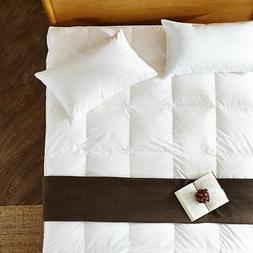 4 king size mattress topper hypoallergenic microfiber