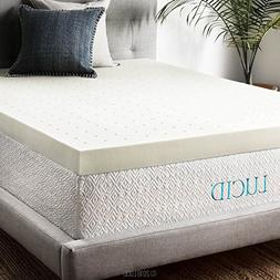 4 Memory Foam Mattress Topper by LUCID King