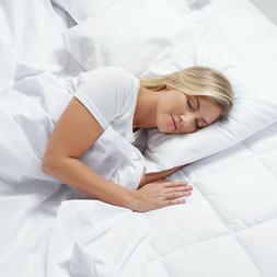 "Serta 4"" Pillow-Top and Memory Foam Mattress Topper-Free Shi"