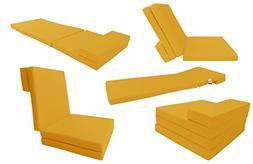 4-Folded Foam Mattress, Folding Mat, Bed 83 x 27 x 3