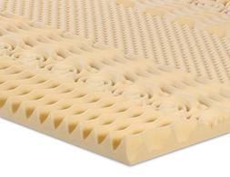 Serenia Sleep 2-Inch 7-Zone Memory Foam Topper, King