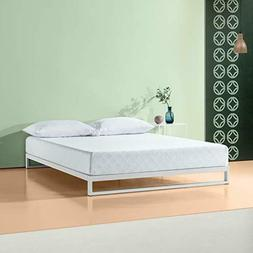 Zinus 8 Inch Gel-Infused Green Tea Memory Foam Mattress, Que