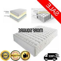 Queen Size Mattress 8 Inch Coil Memory Foam Mattress Bed Mat
