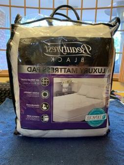 BEAUTYREST Twin XL Cotton Mattress Pad Top Dorm