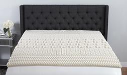 Beautyrest 5-Zone Contour Comfort Memory Foam Topper, King