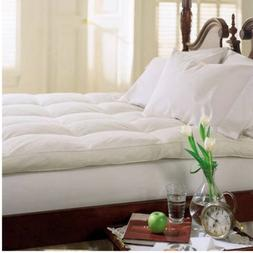 Cluster Top Feather Bed Pillow Top Baffle Box 233 Thread Cou