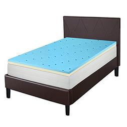 Continental Sleep Gel Infused High Density Foam Topper for Q