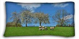 """Generic Personalized  DIY Pillow Cover Size 20""""X36"""" suitable"""