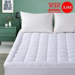 Queen Mattress Pad - 300TC Down Alternative Pillow Top Mattr