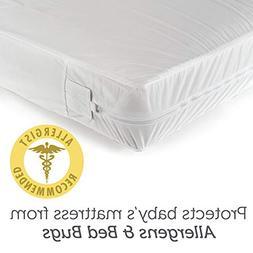 Sealy SafetyCase Protective Zippered Crib Mattress Encasemen