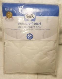 Sealy Stain Protection Waterproof Fitted Crib/Toddler Mattre