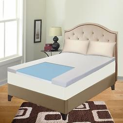 """Spinal Solution Gel Infused 2"""" High Density Foam Mattress To"""