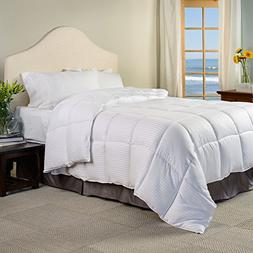 Superior White Down Alternative Comforter, Duvet Insert, Med