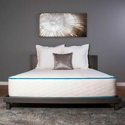 Dreamfoam Bedding Arctic Dreams 10 Inch Cooling Gel Memory F