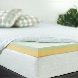 Zinus AZ-GTFT-400F 4 Inch Green Tea Memory Foam Mattress Top