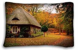 Generic Baby Girls' Nature Autumn park path leaf house tree