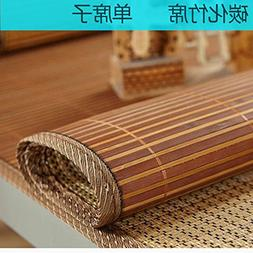 QINQIN Bamboo mat,Single foldable Cool pad Summer sleeping m
