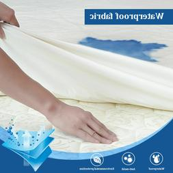 bamboo mattress cover queen waterproof fitted bed