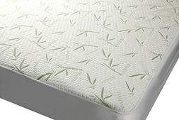 Mezzati Bamboo Premium Plush Mattress Topper - Soft, Quiet,