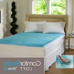 Beautyrest 3 inch Gel Memory Foam Mattress Topper Pad Memory