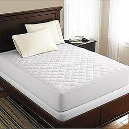 Mattress Cover Protector Topper Quilted Pad Fitted Top Water